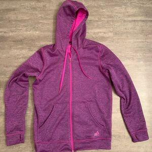 Adidas Pink and Purple Jacket